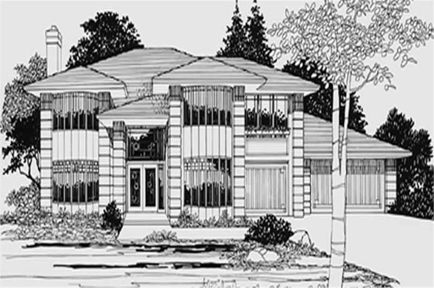 Main image for house plan # 2510