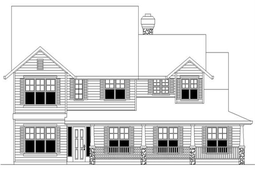 Main image for house plan # 2512