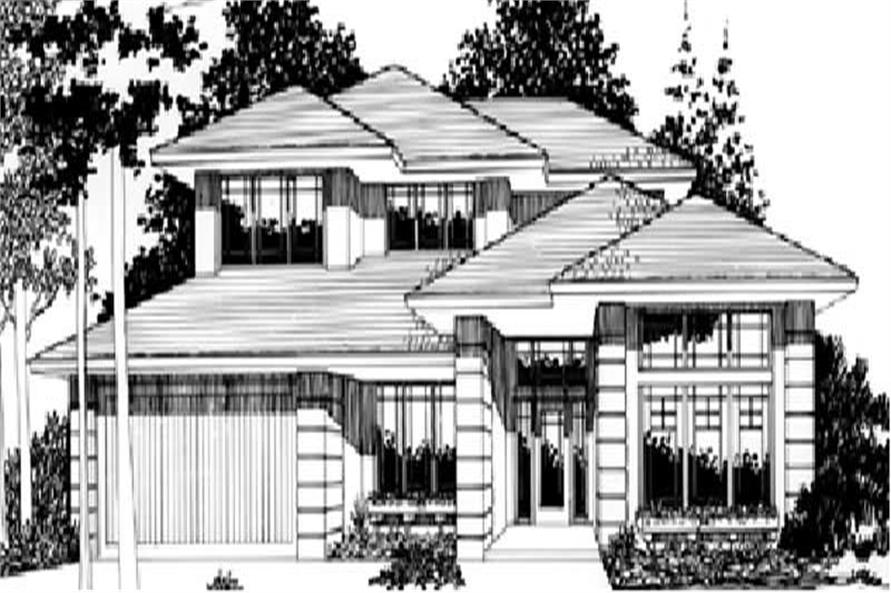 Main image for house plan # 2607