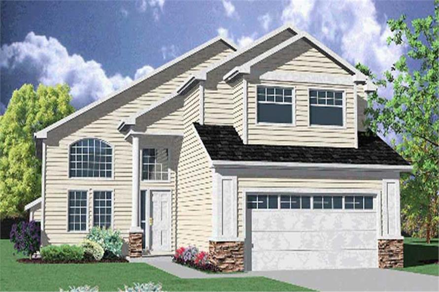Main image for house plan # 2600