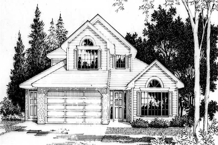 Main image for house plan # 2599