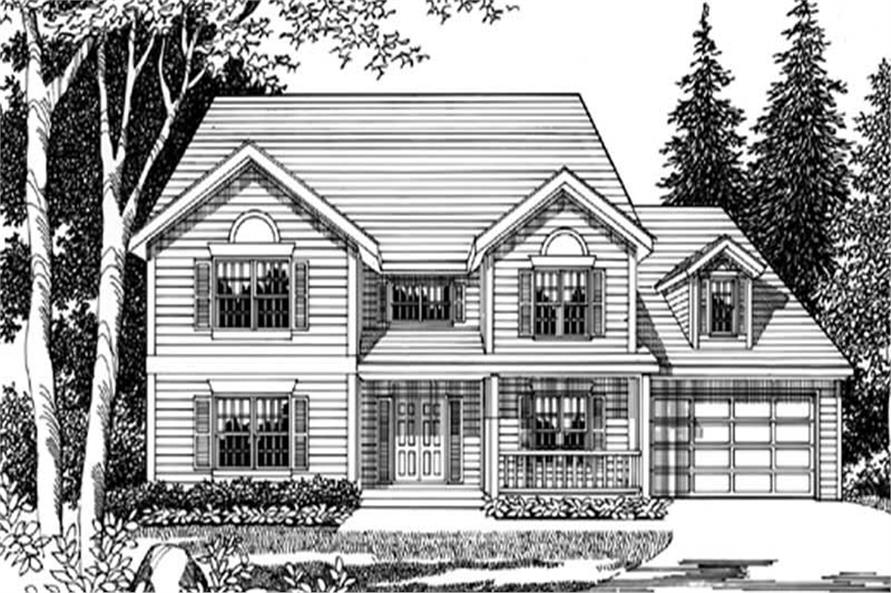 Main image for house plan # 2596