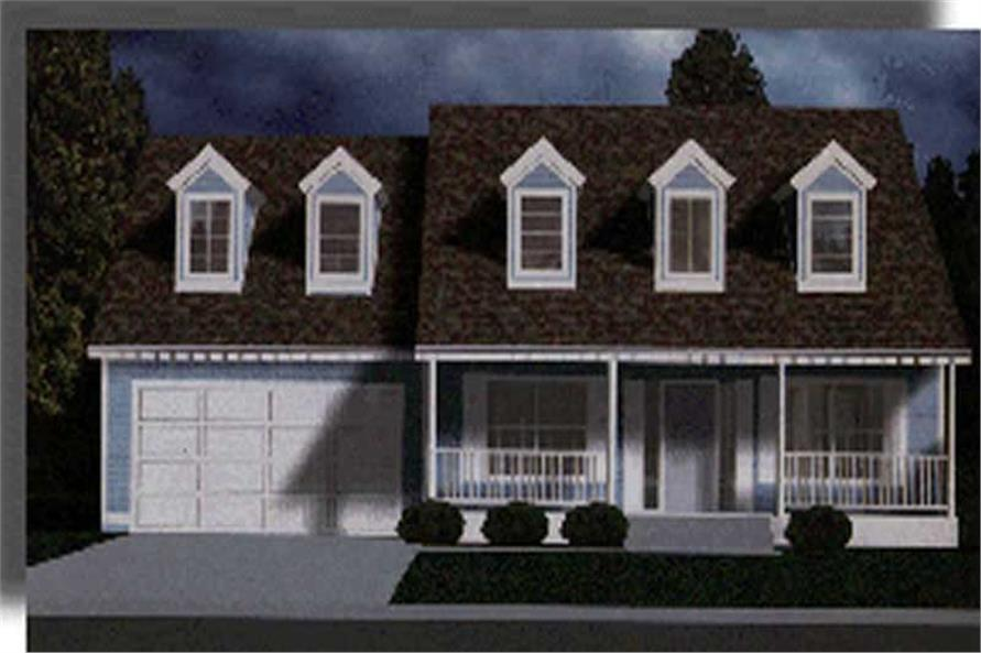 Main image for house plan # 2675