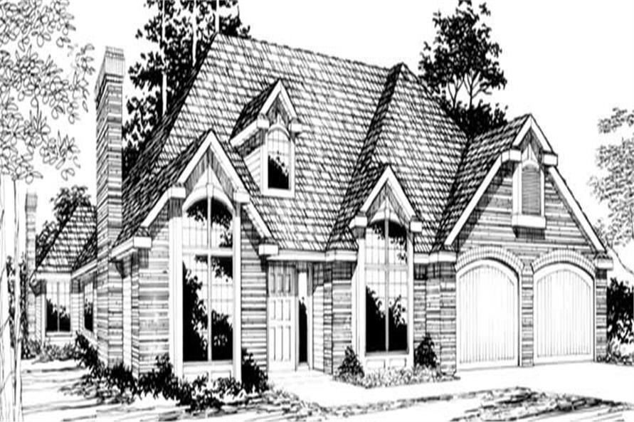 Main image for house plan # 2677