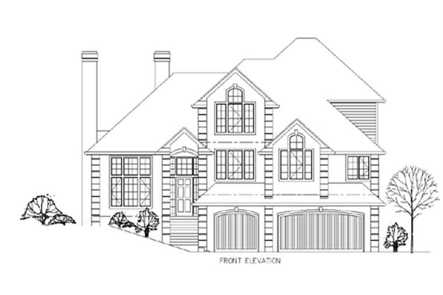 Main image for house plan # 2623