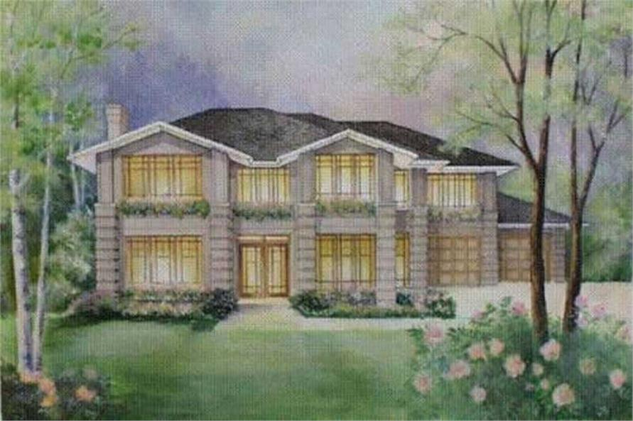 Main image for house plan # 2622
