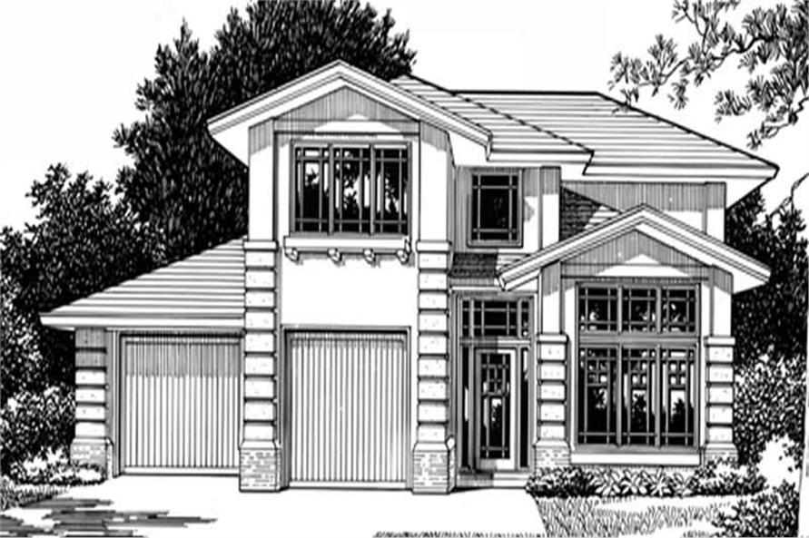 Main image for house plan # 2621