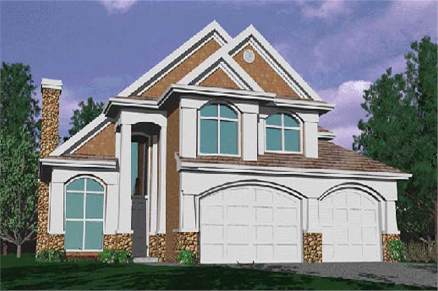 Main image for house plan # 2573