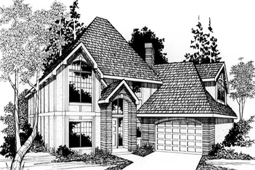Main image for house plan # 2690