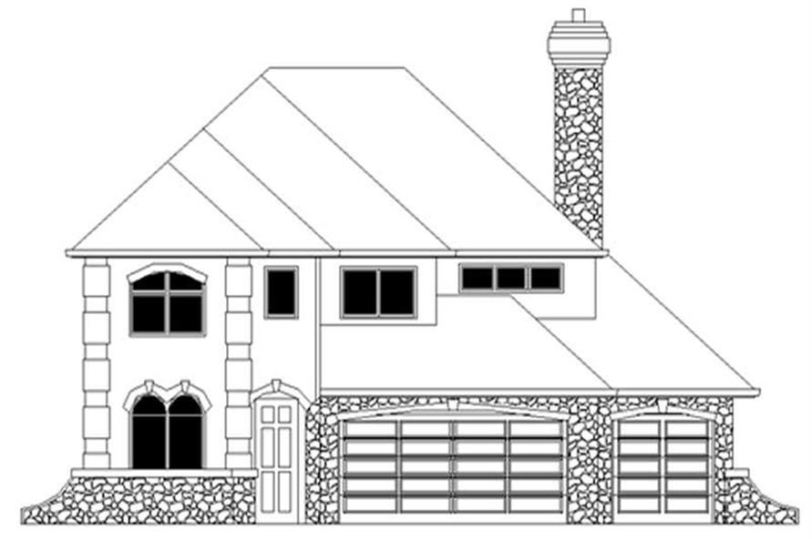 Main image for house plan # 2692