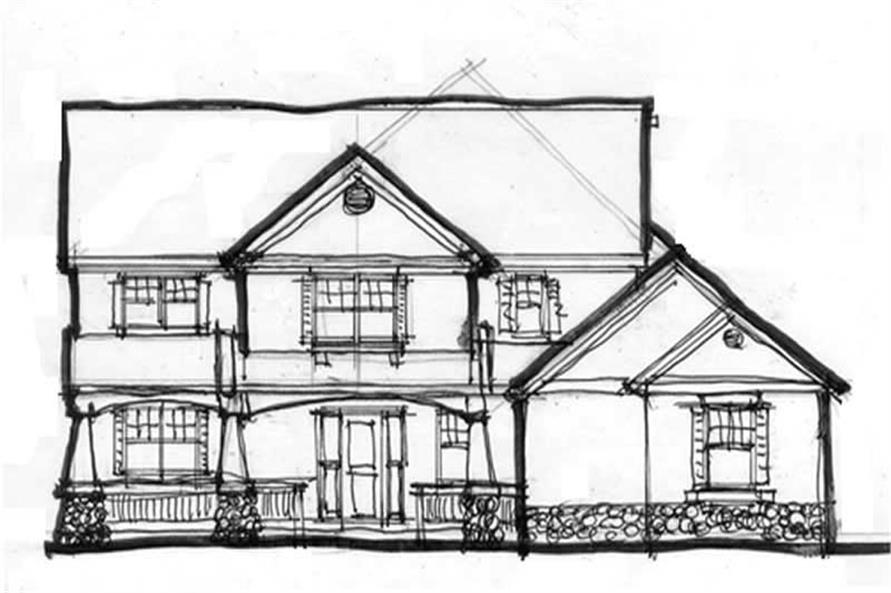 Main Elevation for ms2545