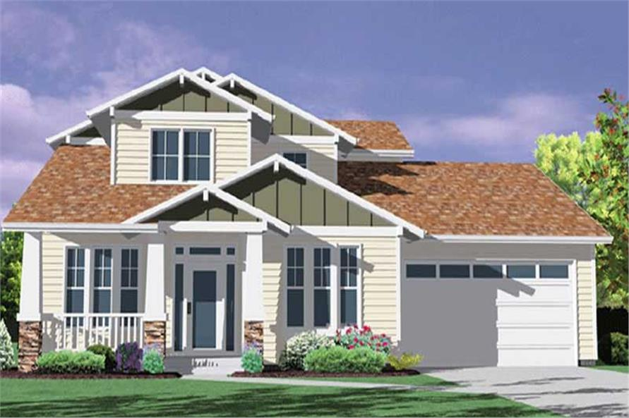 Main image for house plan # 2695