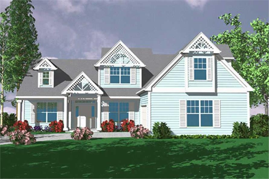 Main image for house plan # 2697