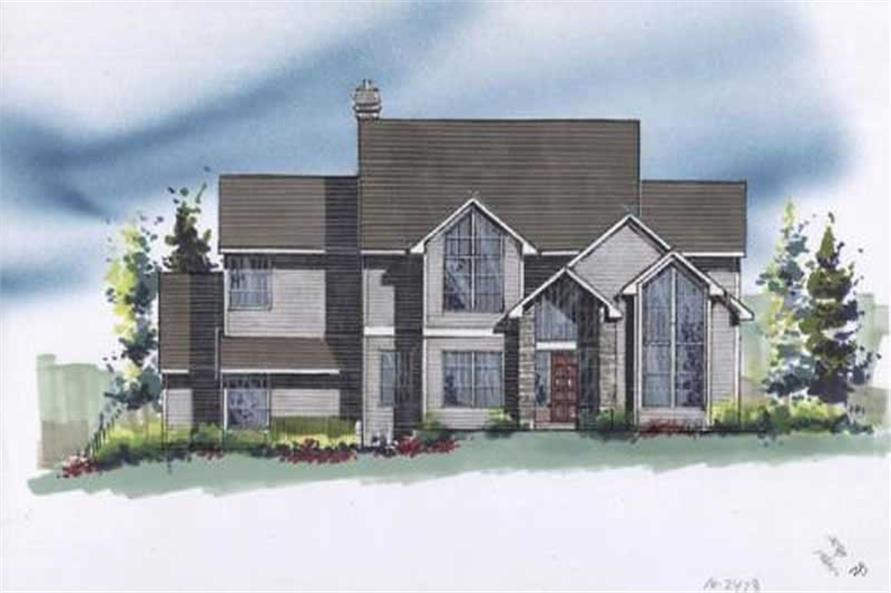 Main image for house plan # 2571
