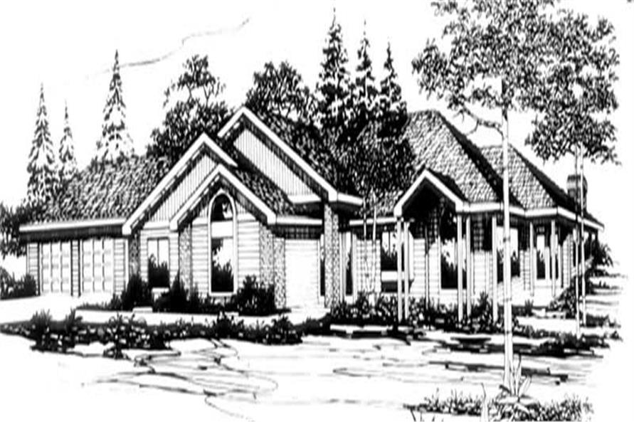 Main image for house plan # 2680