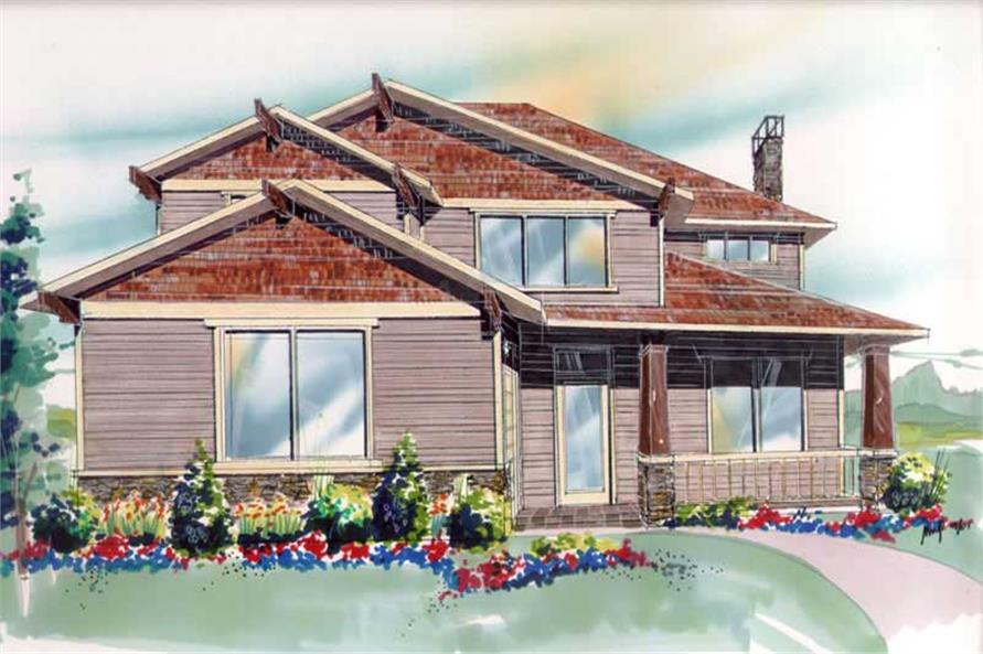 Main image for house plan # 2589