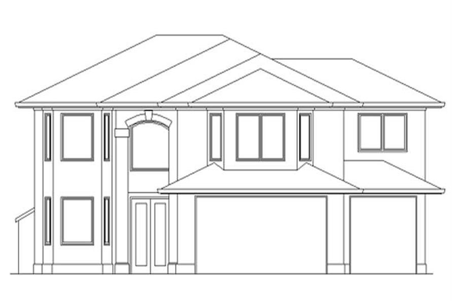 Main image for house plan # 2586