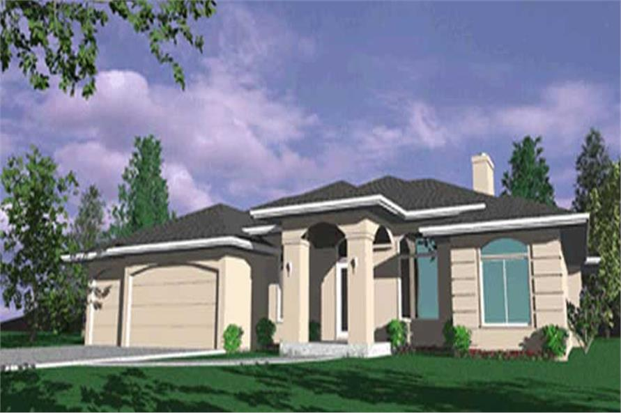 Main image for house plan # 2584