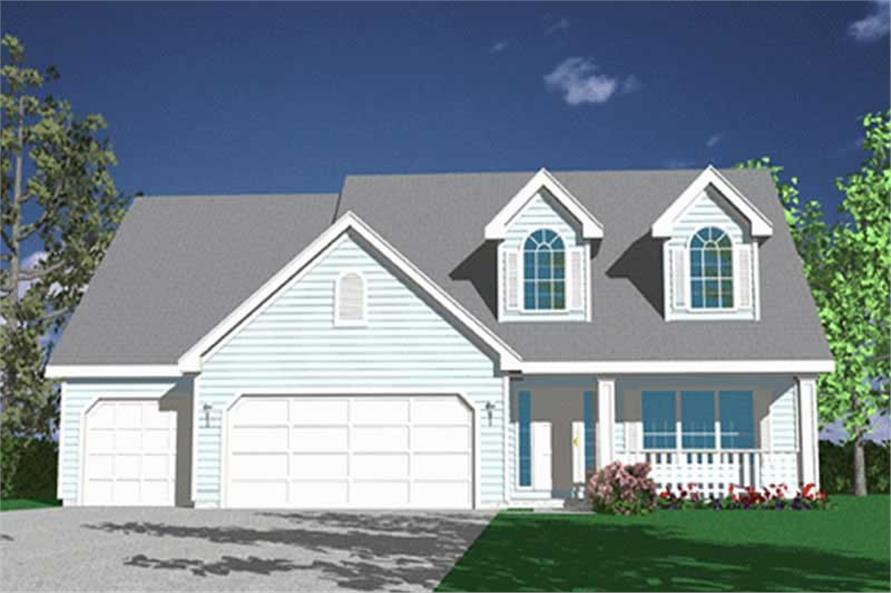 Main image for house plan # 2576