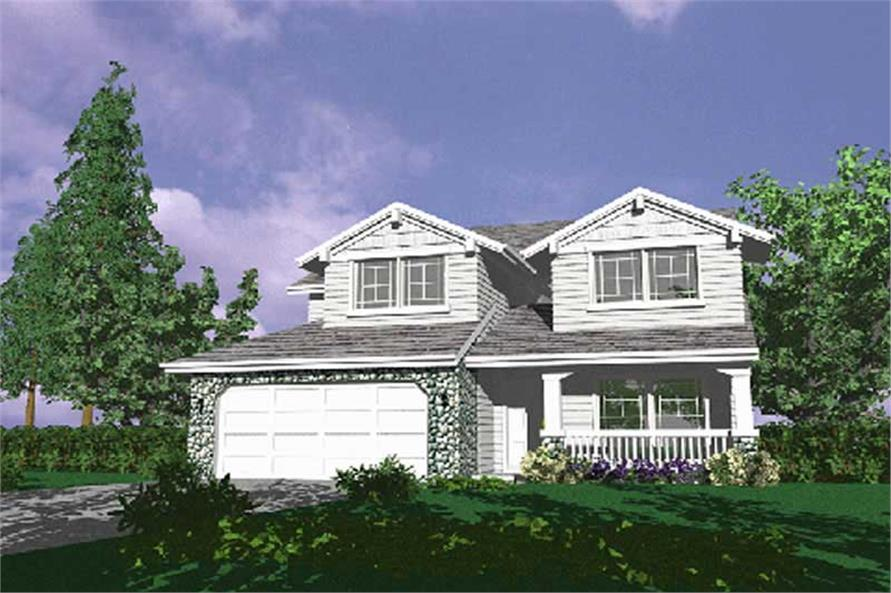 Main image for house plan # 2581