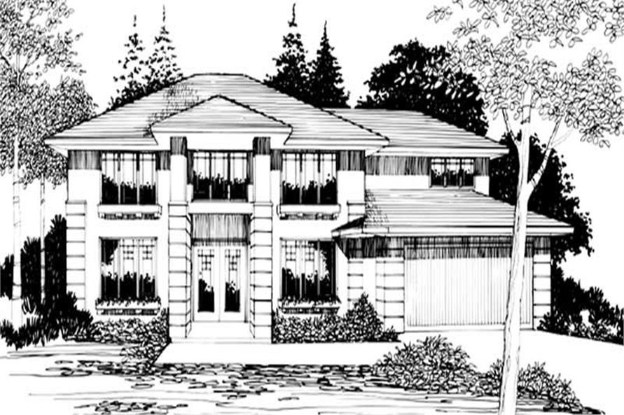 Main image for house plan # 2580