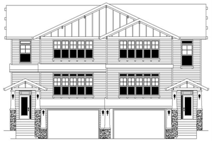 Main image for house plan # 2681