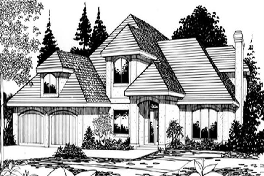 Main image for house plan # 2682