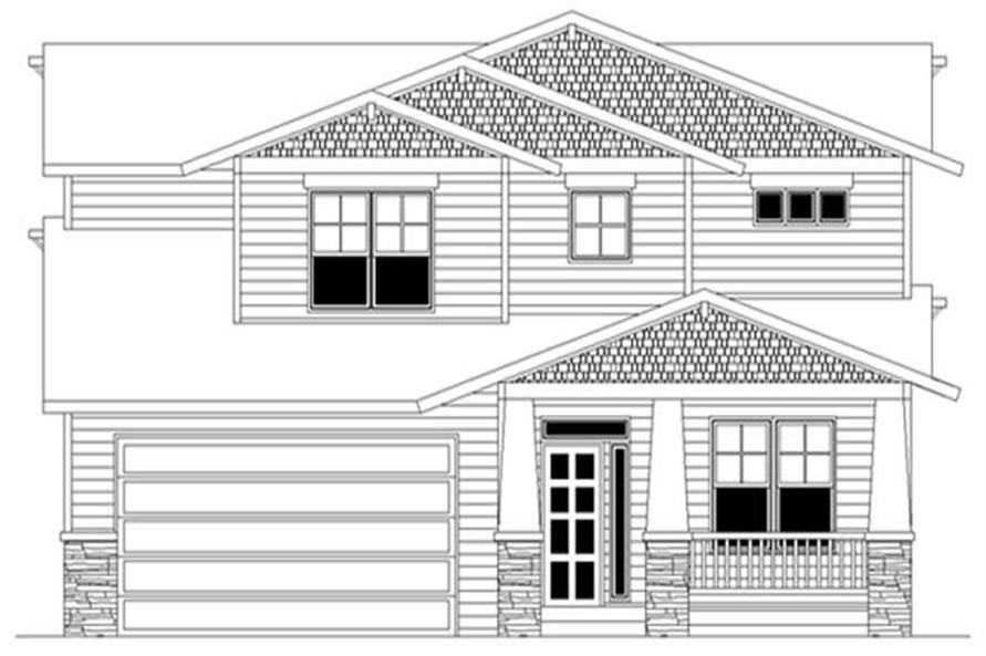 Main image for house plan # 2643