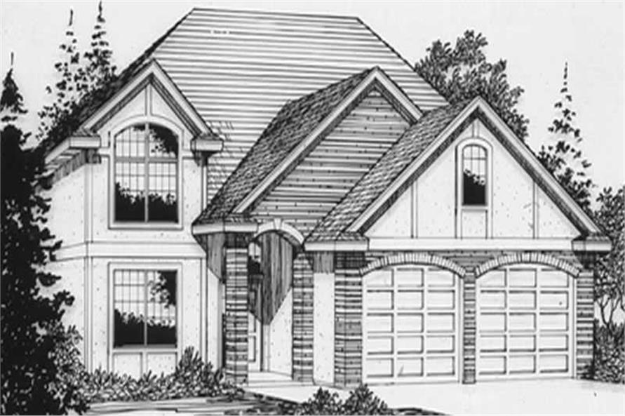 Main image for house plan # 2645