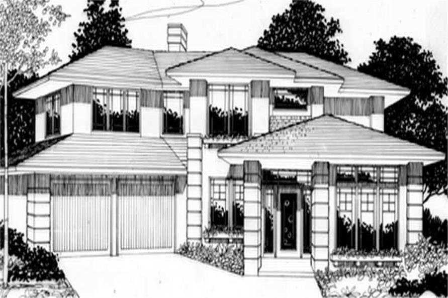 Main Elevation for ms2279