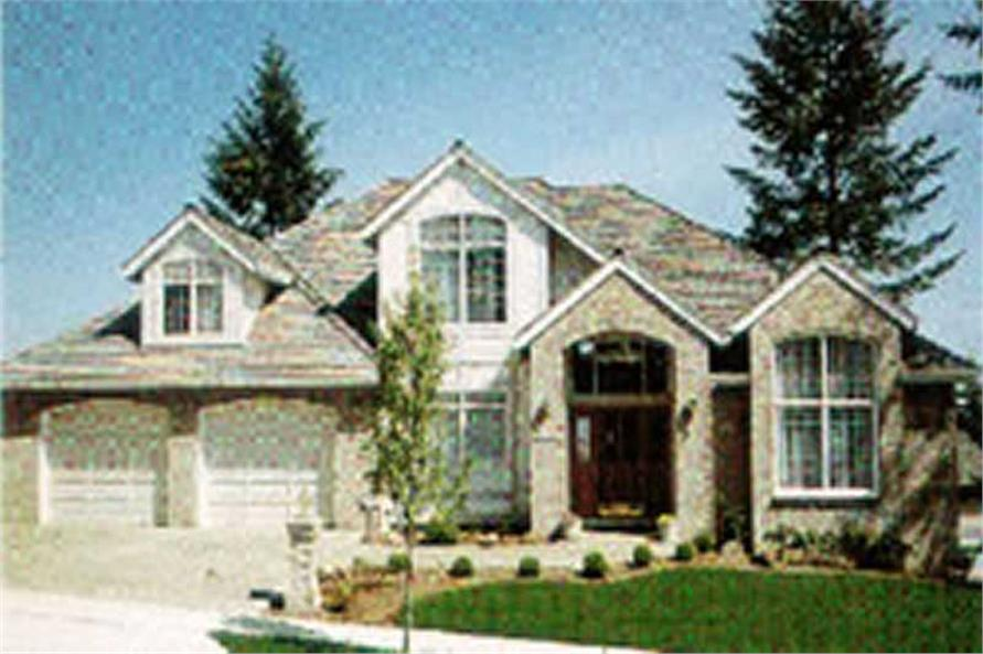 Main image for house plan # 2534