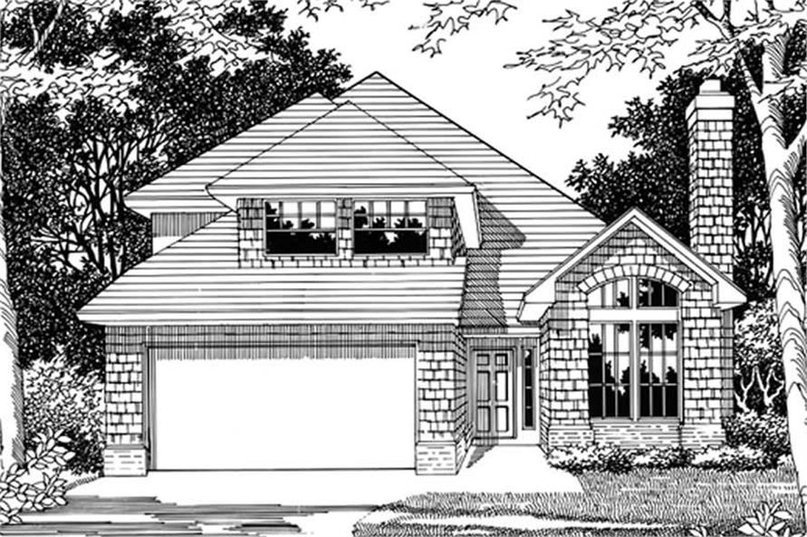 Main image for house plan # 2654