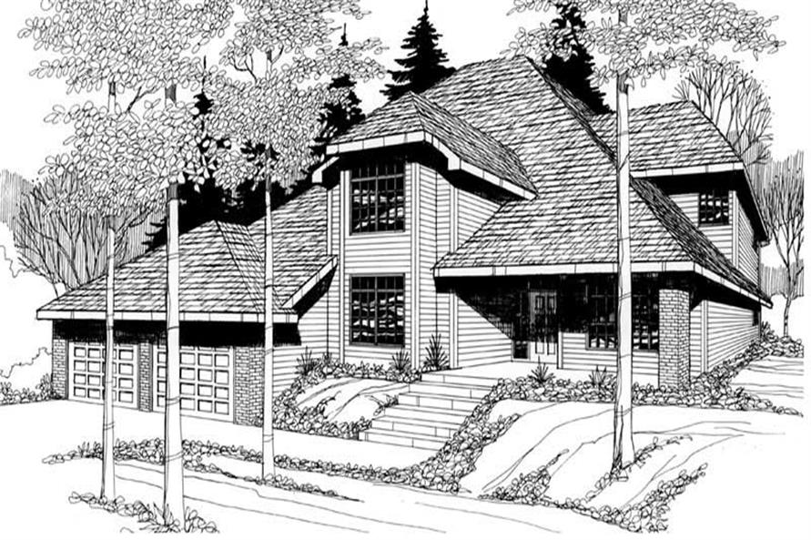 Main image for house plan # 2633