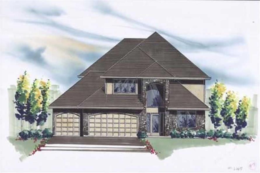 Main image for house plan # 2627