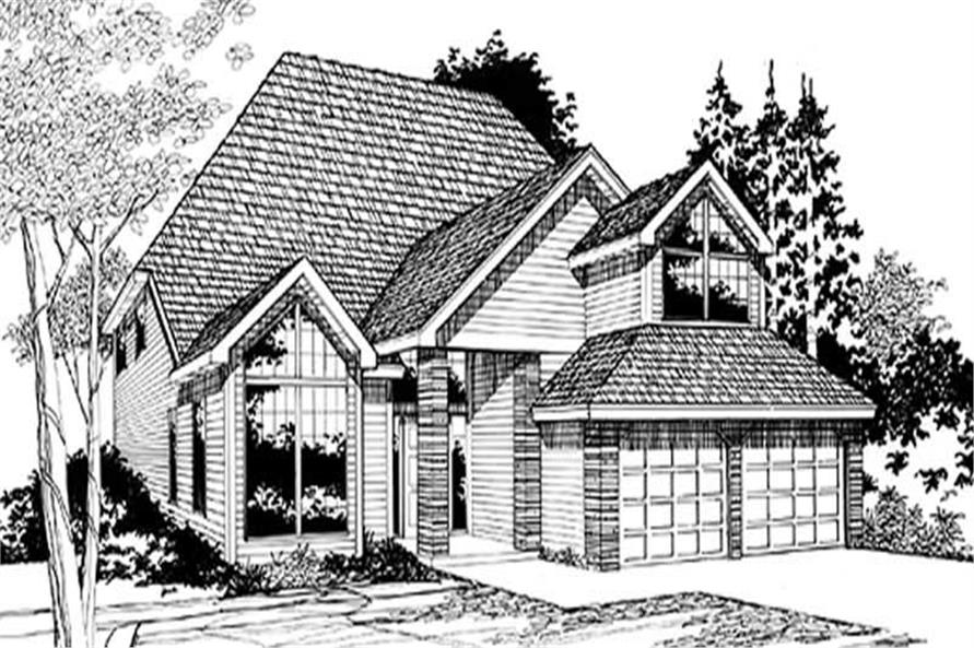 Main image for house plan # 2646