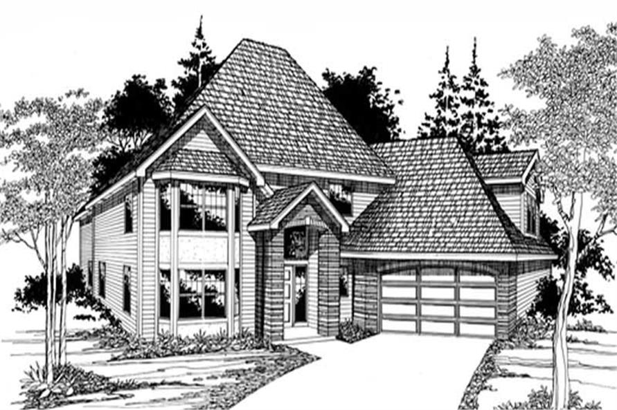 Main image for house plan # 2632