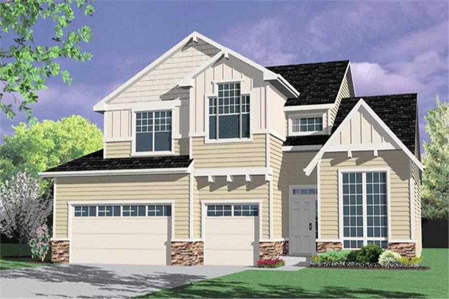 Main image for house plan # 2635