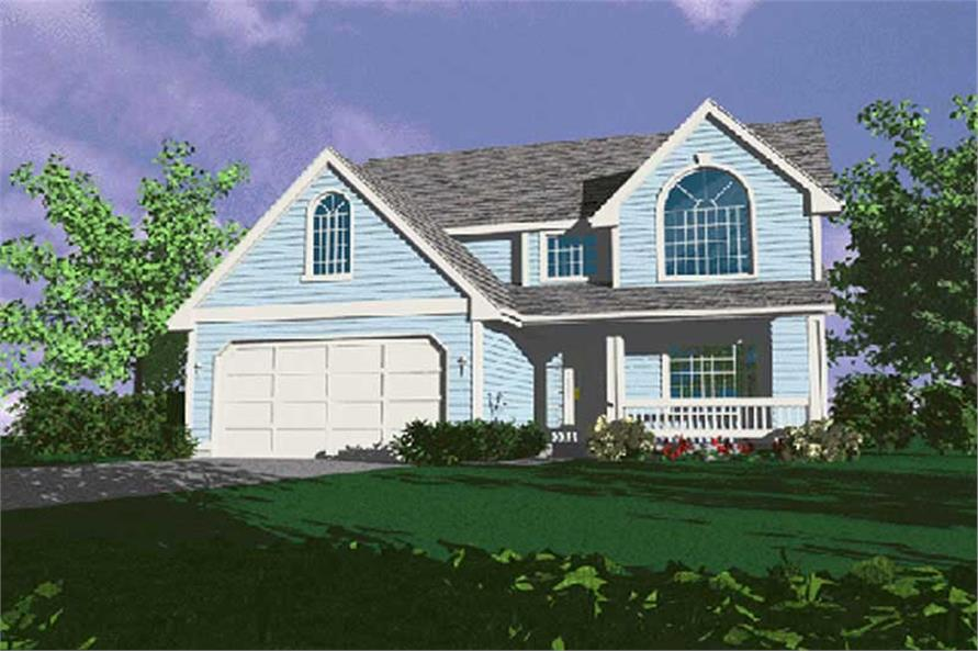 Main image for house plan # 2636