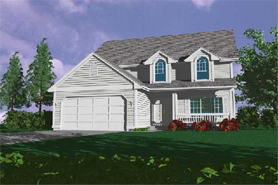 Main image for house plan # 2637
