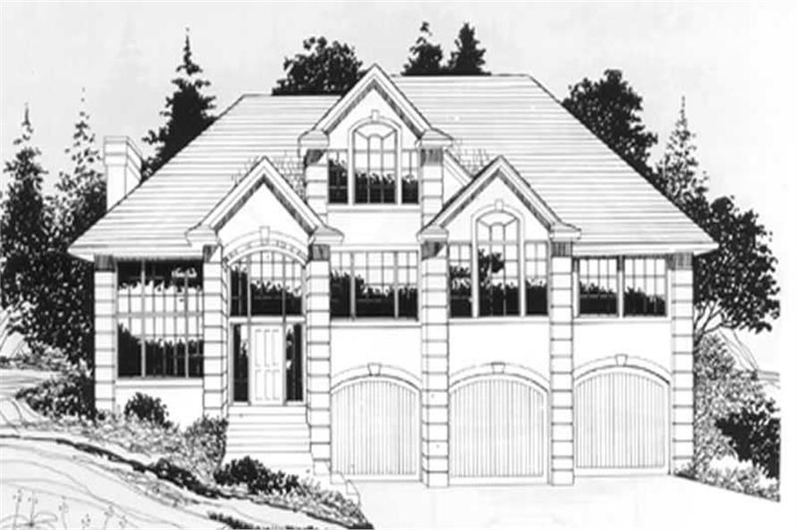 Main image for house plan # 2638