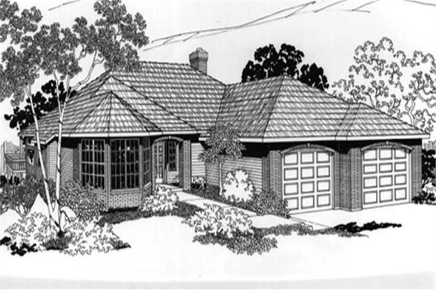 Main image for house plan # 2657