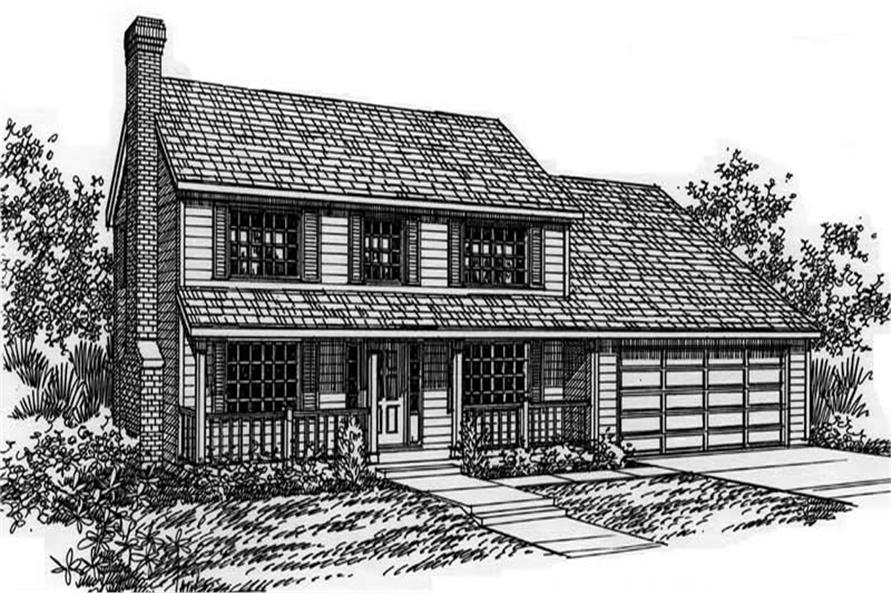 Main image for house plan # 2663