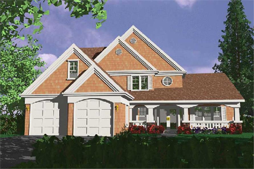 Main image for house plan # 2665