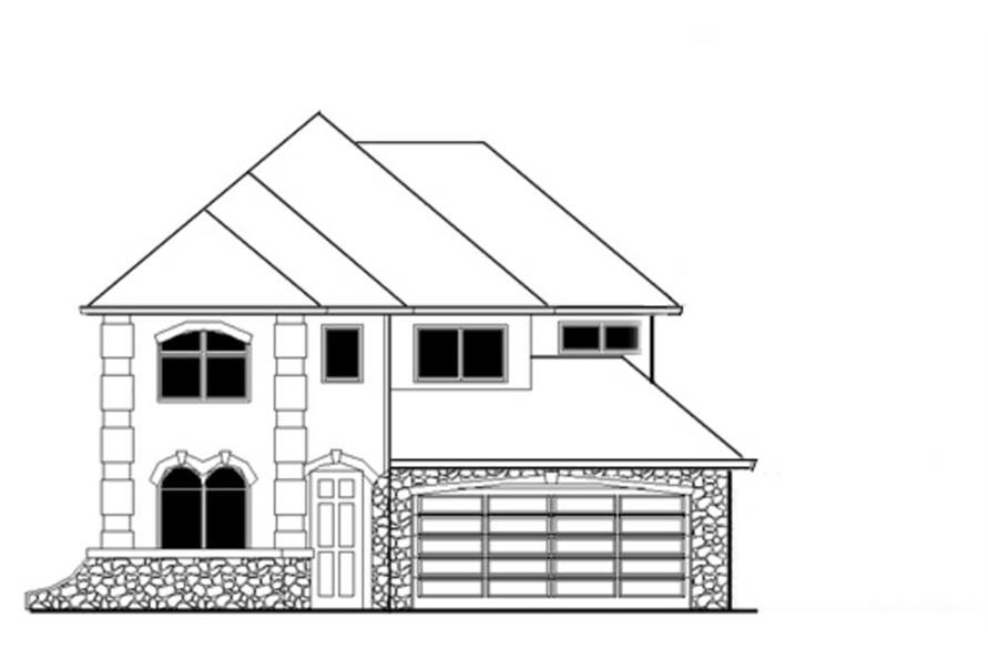 Main image for house plan # 2660