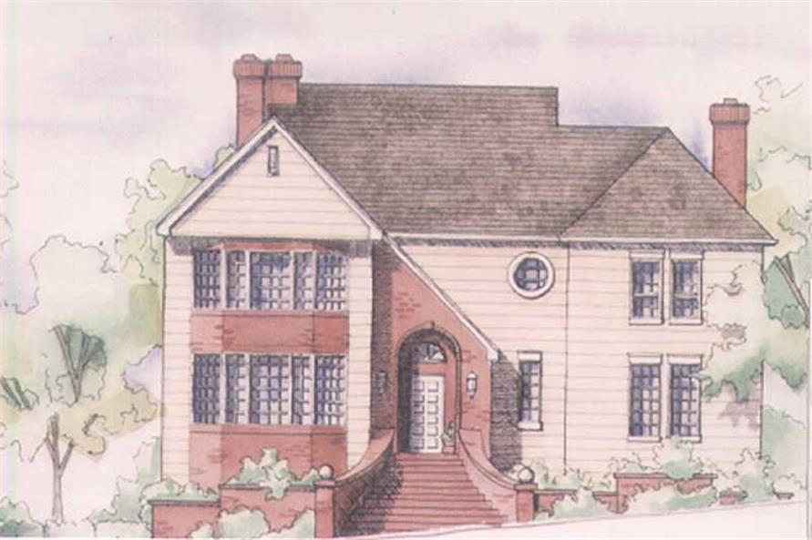 Main image for house plan # 2546