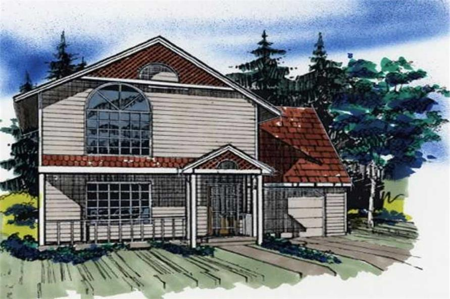 Main image for house plan # 2226