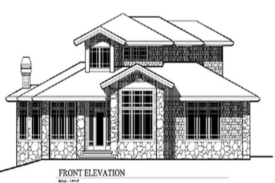Main image for house plan # 2702