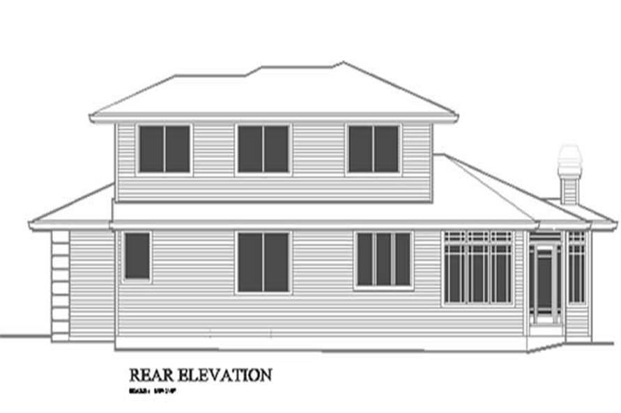 Rear Elevation for ms2400