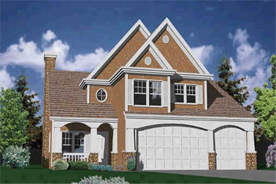 Main image for house plan # 2698