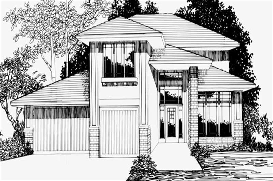 Main image for house plan # 2708